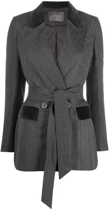 Lorena Antoniazzi Tie-Waist Jacket