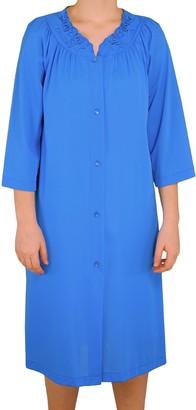 Shadowline Women's Plus-Size Petals 3/4 Sleeve 41 Inch Waltz Coat