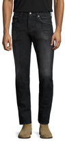AG Adriano Goldschmied Dylan Buttoned Slim Jeans