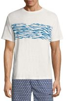 Surfside Supply Co. Wave-Printed Tee