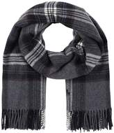Polo Ralph Lauren BLENDBLANKET PLAID Scarf charcoal