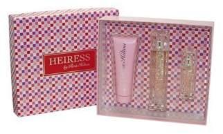 Paris Hilton Heiress 3 Piece Fragrance Gift Set for Women, 3.4 Ounce