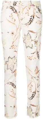 Schumacher Dorothee Havana Flower skinny trousers