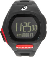 Asics Ar10 Runner Unisex Black Strap Watch-Cqar1004y