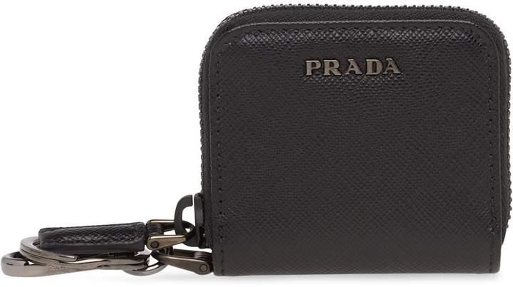 Prada Saffiano leather coin purse