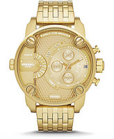 Diesel Goldtone Little Daddy Multifunction Stainless Steel Bracelet Chronograph Watch