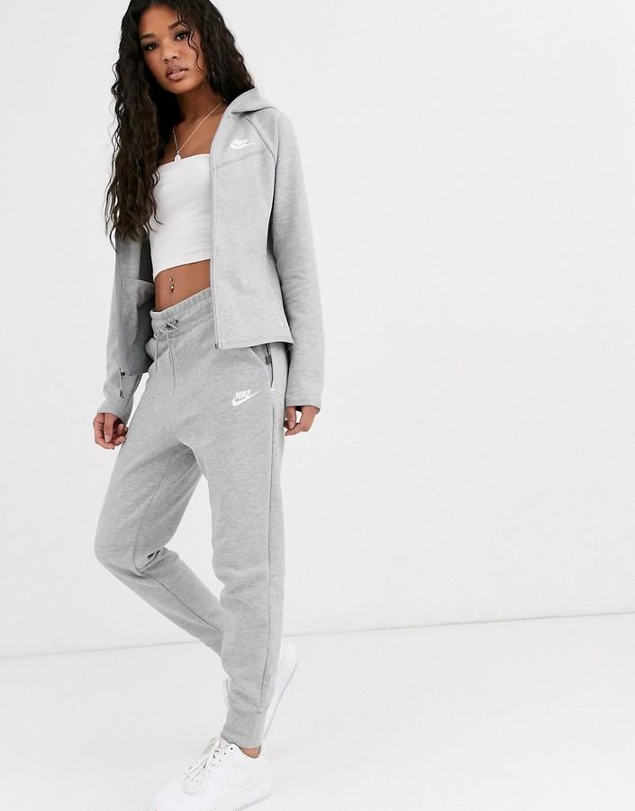 Nike Grey Tech Fleece Joggers Shopstyle Activewear Pants
