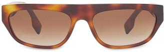 Burberry Monogram motif rectangular frame sunglasses