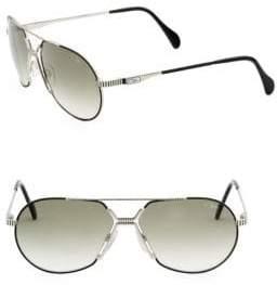 Cazal 62MM Aviator Sunglasses