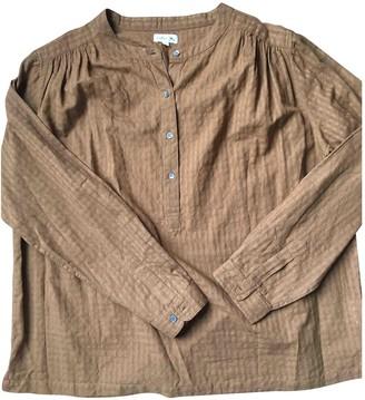 soeur Camel Cotton Top for Women