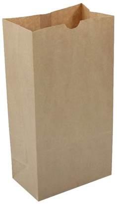 Jam Paper & Envelope JAM Kraft Lunch Bags, XXX-Large, 7 1/8 x 4 3/8 x 13 15/16, Brown, Bulk 500 Bags/Box