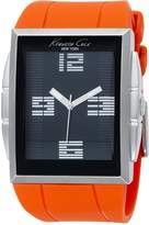 Kenneth Cole New York Men's KC1561 Digital Quartz Polyurethane Strap Watch
