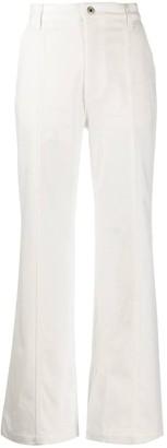 Loewe White Boot Cut Jeans