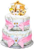 Burts Bees Baby Burt's Bees Baby Organic Diaper Cake Gift Basket - Girl