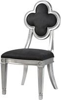 The Well Appointed House Petal Back Dining Chair in Grey