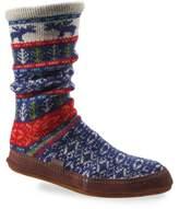 Acorn Print Slipper Sock
