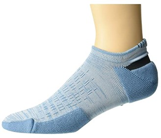 Nike Spark Cushion No Show Socks (Cerulean/Spruce Aura/Reflective) No Show Socks Shoes