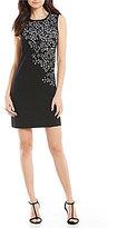 Calvin Klein Laser Cut-Out A-Line Dress