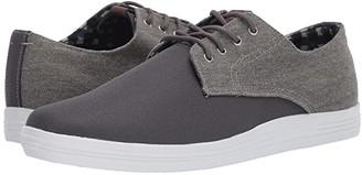 Ben Sherman Payton (Grey Linen) Men's Lace up casual Shoes