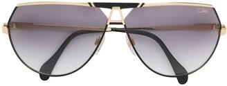 Cazal Tinted Aviator Sunglasses