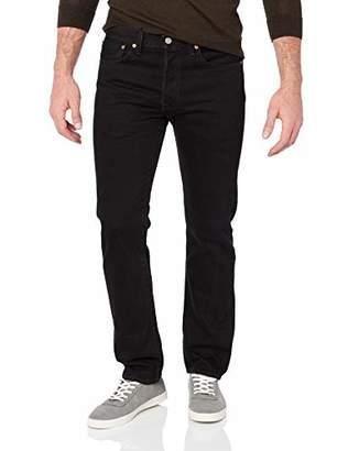Levi's 501 Mens Original Fit Jeans - Regular Fitted Classic Design, Comfortable Denim
