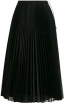 Fendi pleated organza skirt