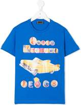 Versace logo car print T-shirt