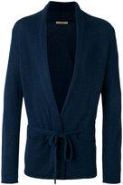 Nuur tie-fastening cardigan - men - Cotton/Nylon - 46