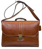 Nash For Men Heritage Leather Messenger Bag