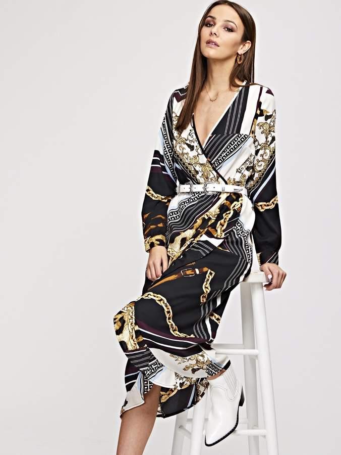 aa16b1ee62 Scarf Print Dressed - ShopStyle
