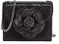 Oscar de la Renta Women's Mini Tro Crystal-Embellished Crossbody Bag