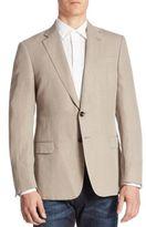 Armani Collezioni Solid Wool Jacket