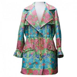 Christian Lacroix Multicolour Coat for Women Vintage