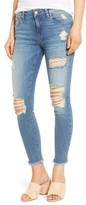 BP Women's Ripped Crop Skinny Jeans