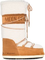Moon Boot shearling snowboots