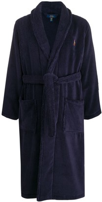 Polo Ralph Lauren embroidered logo robe