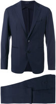 Tagliatore two piece suit - men - Cupro/Mohair/Virgin Wool - 50