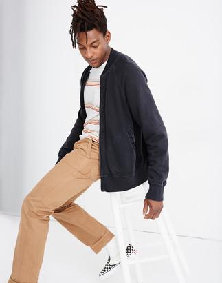 Madewell Sweatshirt Bomber Jacket