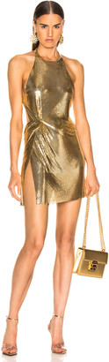 Fannie Schiavoni Alicia Dress in 18K Gold | FWRD
