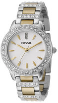 Fossil Women's 'Jesse' Crystal Embellished Bracelet Watch, 34Mm