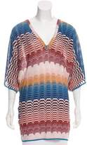 Missoni Metallic Knit Tunic w/ Tags