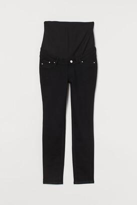 H&M MAMA Skinny Ankle Jeans - Black