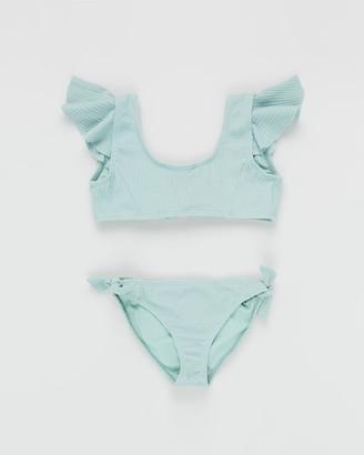Duskii Aya Frill Bikini Set - Teens