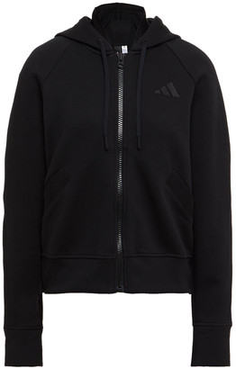 adidas Cotton-blend Jersey Hoodie