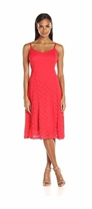 Ronni Nicole Women's Sleevless Lace Slip Dress