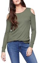Sanctuary Women's Bowery Cold Shoulder Thermal Tee