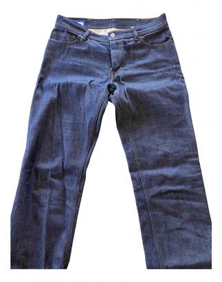 Acne Studios Navy Cotton Jeans