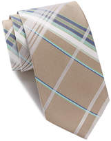 Ben Sherman Norton Plaid Silk Tie