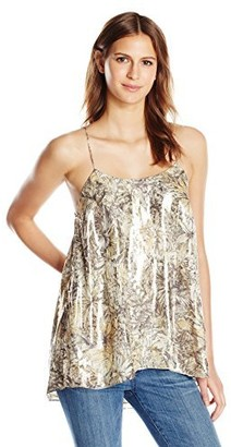 Haute Hippie Women's Easy Cami with Side Bar Detail