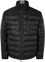 Canada Goose Lodge Black Quilted Shell Jacket